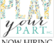 Play Your Part is Now Hiring
